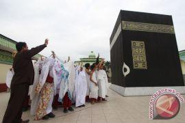 1.524 Santri Cilik Tanjungbalai Praktik Manasik Haji