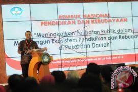 Mendikbud: Peningkatan Mutu Pendidikan Didorong Pelaku Bukan Dari Aturan