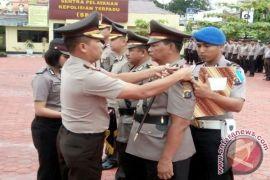 Kapolres Tanjungbalai Pimpin Sertijab Waka-Kasat