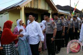 Mesjid Syukur di kunjungi tim Safari Ramadhan Pemkab Tapsel
