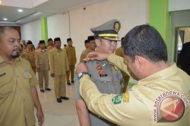 Walikota Andar Amin Harahap Lantik Kasat Pol PP Padangsidimpuan