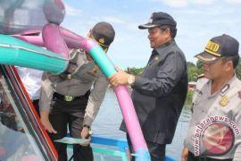 Pemprovsu Tinjau Pelabuhan Penyeberangan Tomok Samosir
