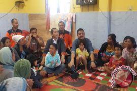 Dpd Ri Tinjau Kondisi Pengungsi Sinabung