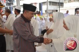 15 Agustus Cahaj Padangsidimpuan Masuk Asrama Haji