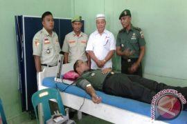 Kodim 0212/ Tapsel Gelar Donor Darah