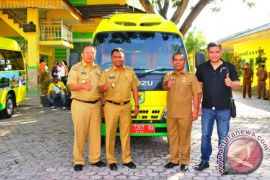 Sergai Terima Empat Bus Dari Kementerian