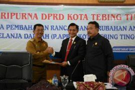 DPRD Setujui P.APBD 2017 Kota Tebing Tinggi Defisit Rp.23 M