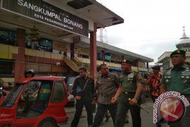 Pangkostrad Blusukan ke Pasar Sangkumpal Bonang Padangsidimpuan