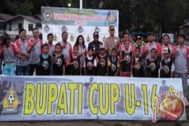 Rapidin Simbolon Tutup Bupati Cup 2017