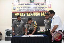 Polres-Pemkot MoU Seleksi Calon Anggota