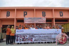 Inalum Sumbang 1.000 Paket Sembako Korban Banjir Asahan