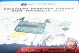 Pelatihan Wartawan Daerah Bank Indonesia 2017