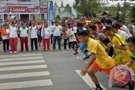 Guru Olahraga di Samosir Gelar Lomba Lari