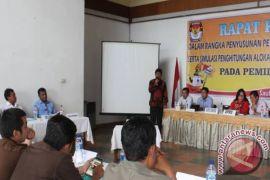 KPU Samosir Gelar Rapat Kerja Penataan Dapil