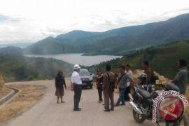Bupati Samosir Pastikan Pembangunan Infrastruktur Peabang