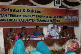 Tim Penilai Kecamatan Kunjungi Marancar