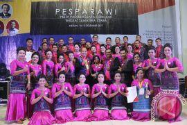 Kontigen Pesparawi Tapteng Raih The Champion Tingkat Provinsi