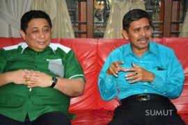 Paslon Isnandar - Ali Pada deklarasi