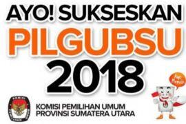 Pemilih pilgubsu Binjai 197.685 orang