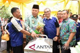 Launching beras organik