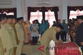 Walikota Sibolga Lantik 148 Pejabat Baru