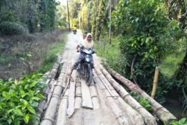 Tolong perbaiki jembatan Aekkanopan Timur