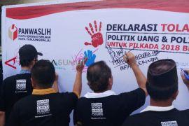 Tanjungbalai deklarasi tolak politik uang-sara
