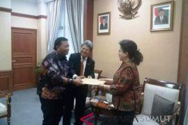 Bupati temui dua menteri di Jakarta
