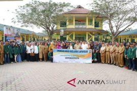 324 mahasiswa USU PKL di Serdang Bedagai