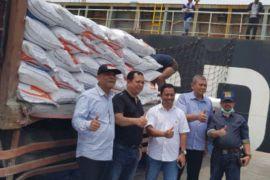 10.000 ton beras impor masuk ke sumut