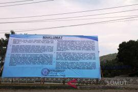 Bupati Madina keluarkan maklumat pembangunan TRB dan TSS