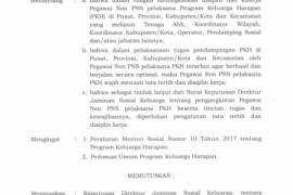 Pendamping PKH wajib berkantor di kecamatan