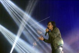 Ribuan warga tonton konser Ari Lasso