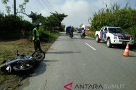 Tabrakan 'laga kambing' sepeda motor tewaskan 2 orang