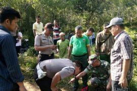 Warga Tambangan digegerkan penemuan jejak Harimau