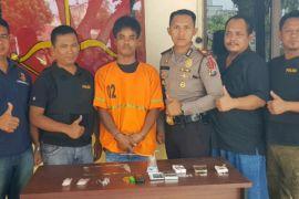 Polsek Perdagangan Tangkap Bandar Sabu