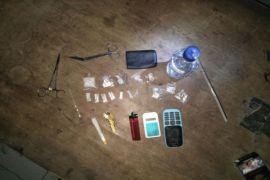 Polisi langkat mengamankan 6,92 gram sabu-sabu