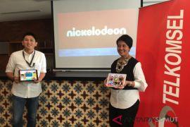 Nickelodeon-Telkomsel luncurkan aplikasi Nickelodeon Play