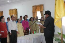 Pengurus P2TP2A Samosir dilantik
