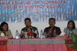 Bidan Pertemuan Bhakti Sosial KB Kesehatan