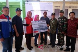 Pertamina periksa kesehatan warga terdampak erupsi Sinabung