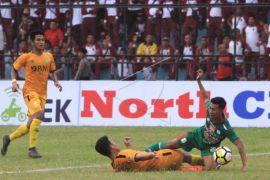 PSMS kalah dikandang 1-2 atas Bhayangkara FC