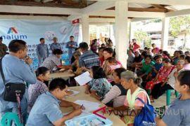 Inalum peduli perbaikan gizi dan kesehatan masyarakat