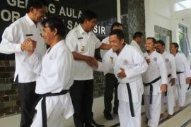 Karatedo Samosir ke Kejurda Sumut