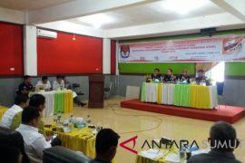 KPU Labura gelar rapat pleno rekapitulasi DPT