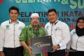 Alumni FTK Unhar jajaki kerjasama dengan perusahaan.