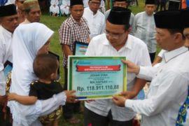 BPJS Ketenagakerjaan Padangsidimpuan bayarkan santunan 118 juta lebih