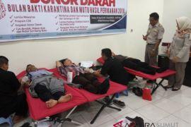 SKIPM Medan II gelar donor darah