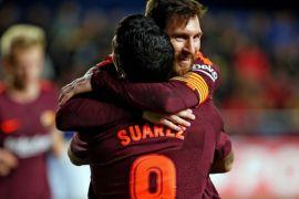 Barca pertahankan gelar  liga Spanyol, setelah kalahkan Deportivo