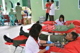 Donor darah di Denpom Pematangsiantar